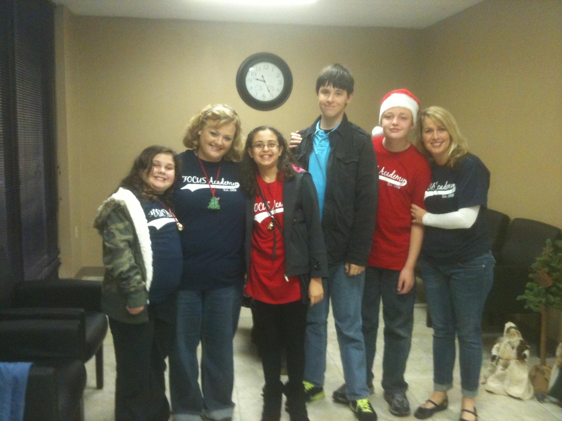 The 2011-12 Woodlands Crew