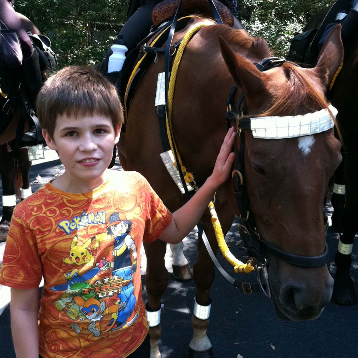 Visit from the Mounted Police 2012
