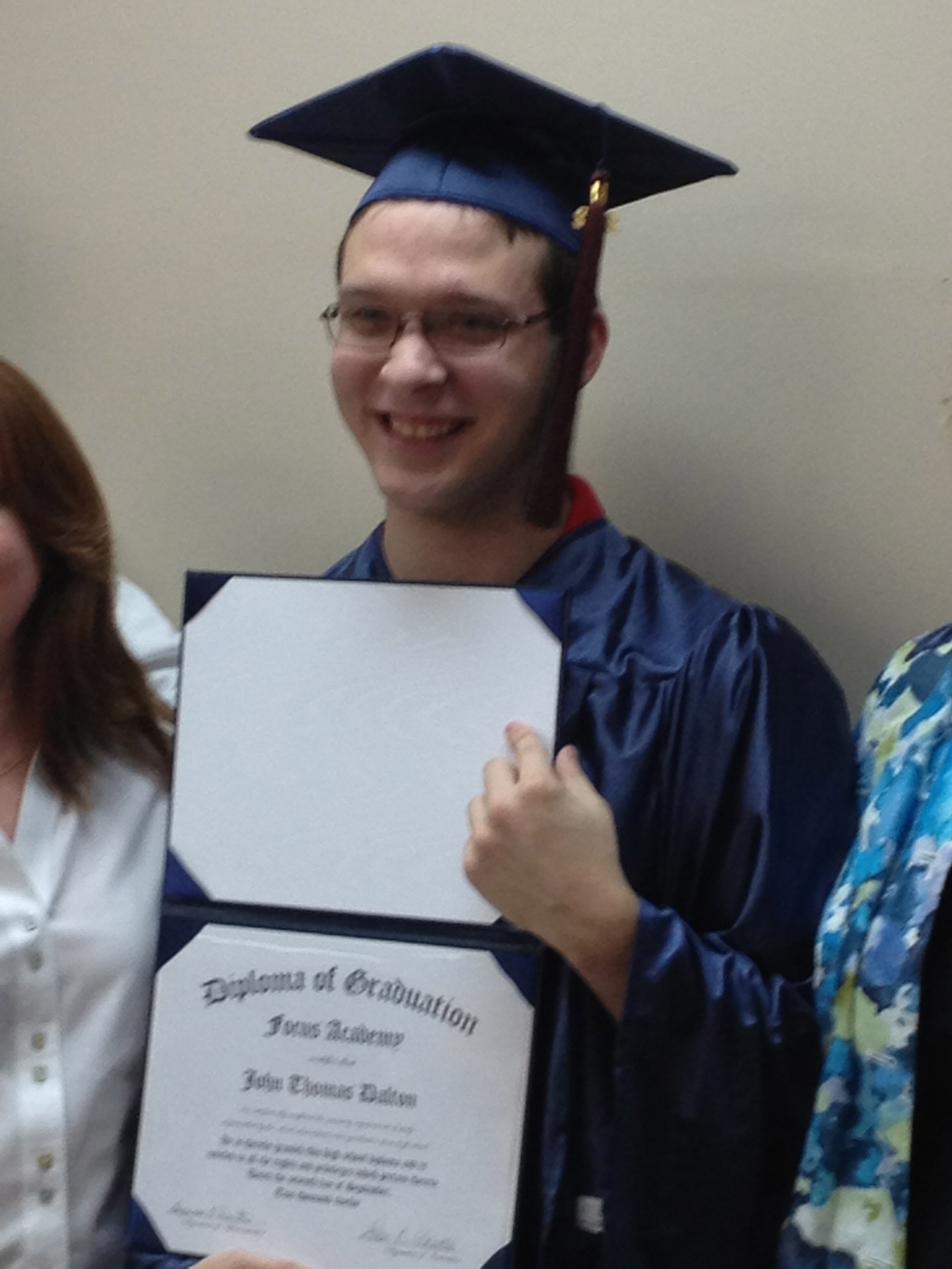 Congrats to our first Katy Graduate!